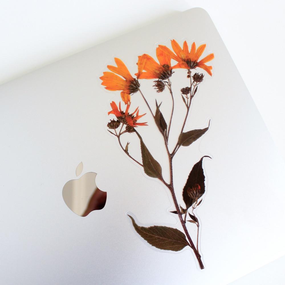 ستيكرات نباتات وزهور ستيكر ورود تزيين اللابتوب أفكار لتغليف الهدايا