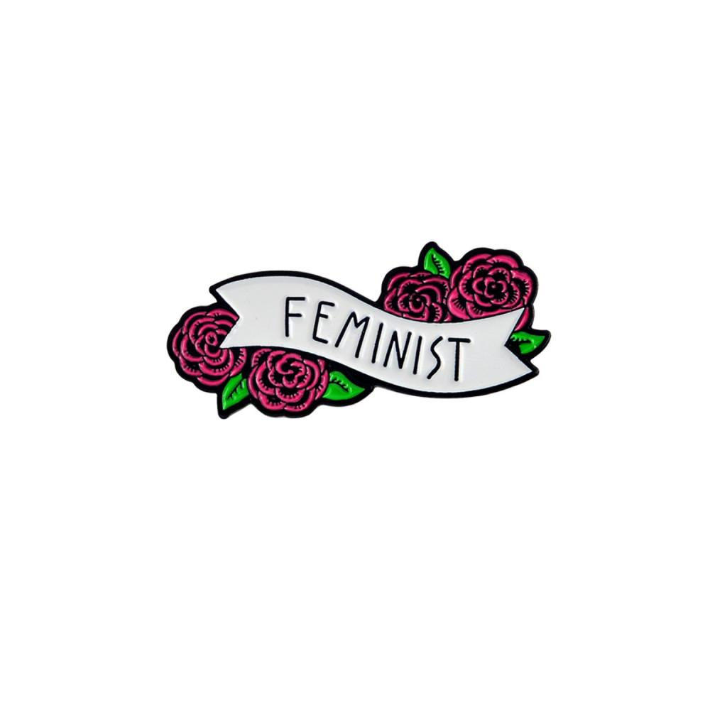 بروش فيمنست Feminist نسوية نسويات اكسسوار اكسسوارات معدنية