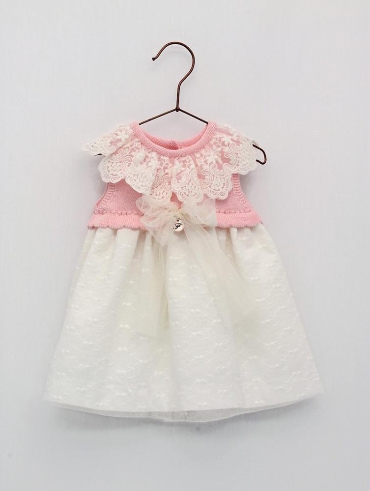فستان  باللون الزهري من ماركة Foque  من دوها