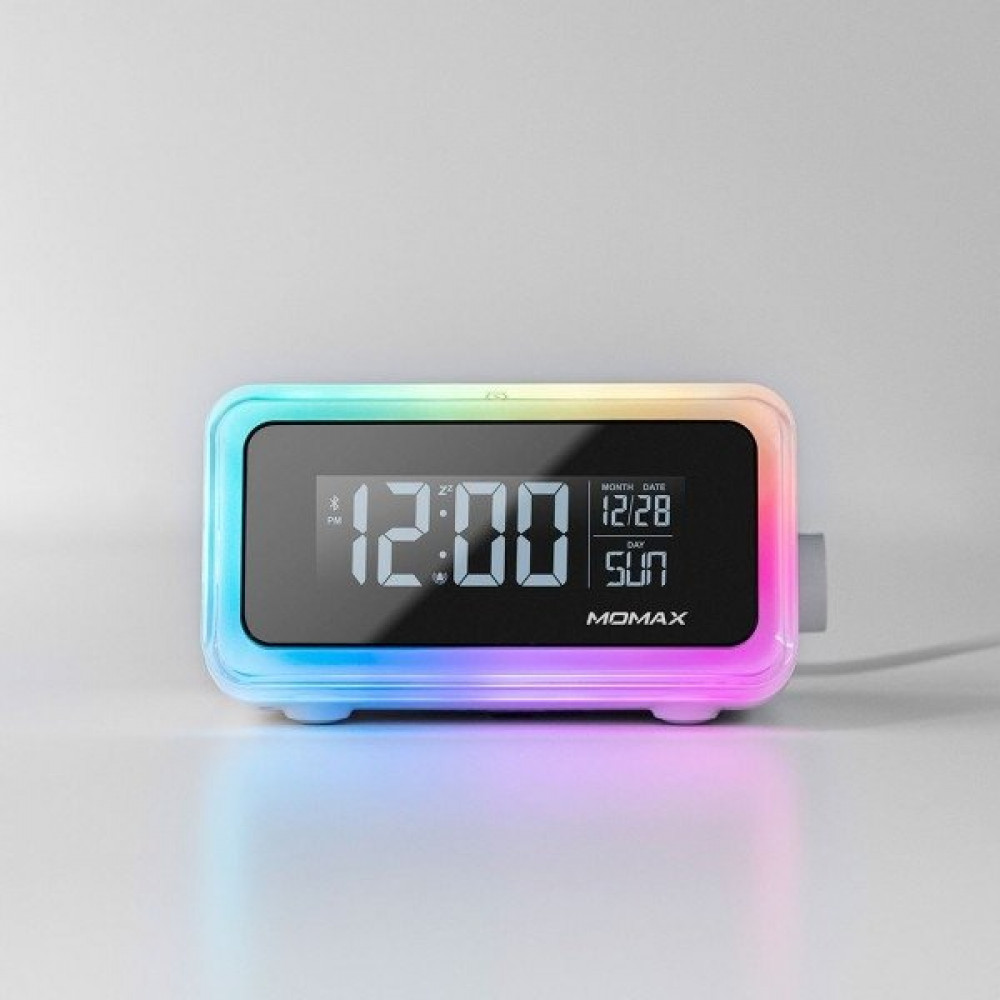 Clock 2 Digital Clock with Wireless Charger