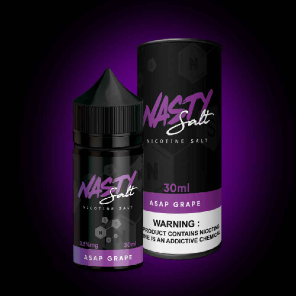 نكهة ناستي عنب سولت نيكوتين - NASTY ASAP GRAPE - Salt Nicotine