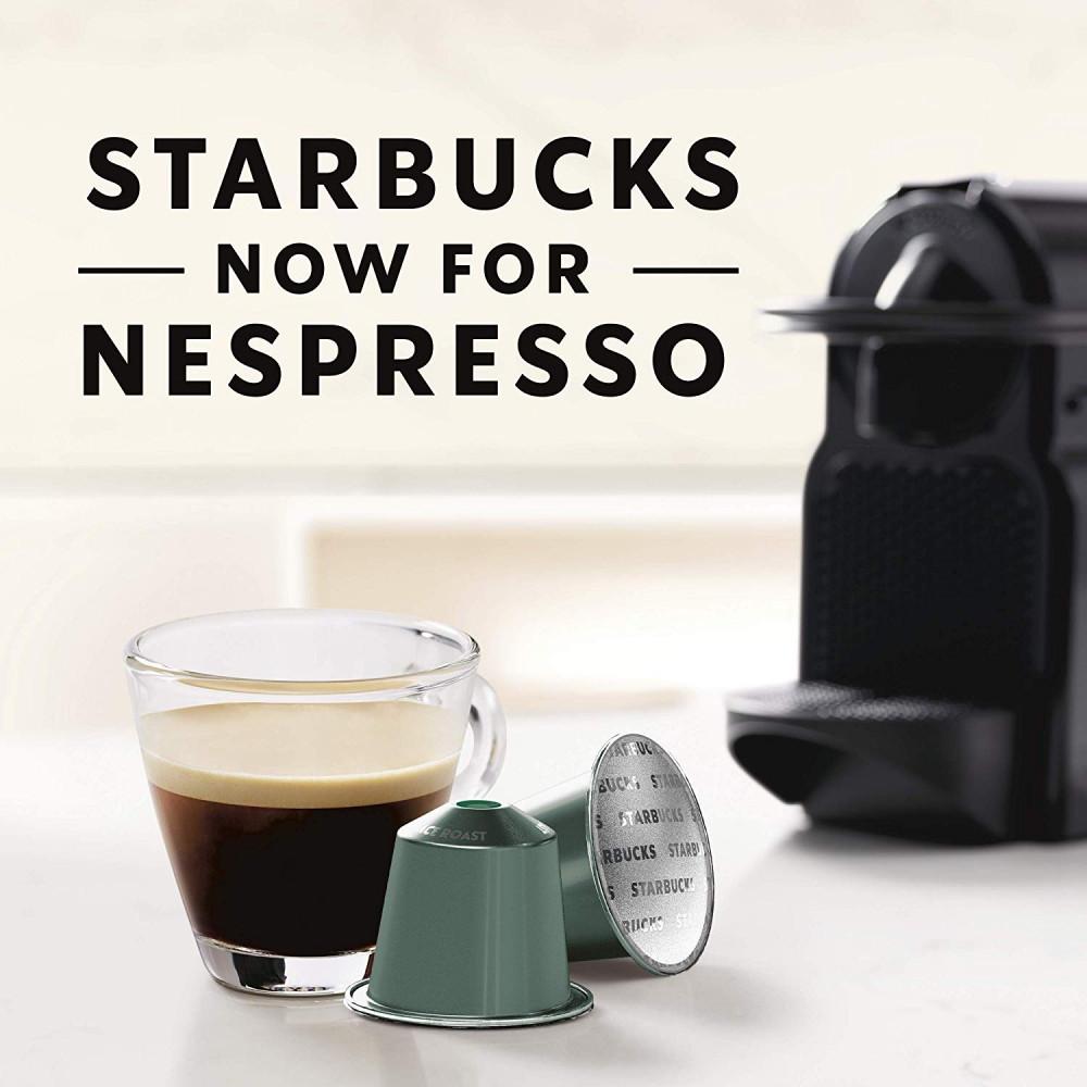 بايك بلايس لونجو قهوة ستاربكس كبسولات نسبريسو الأصلية Nespresso