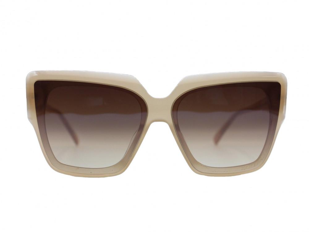 نظاره شمسية مربعه من ماركة  HERMOSSA لون العدسة بني مدرج نسائية 2021