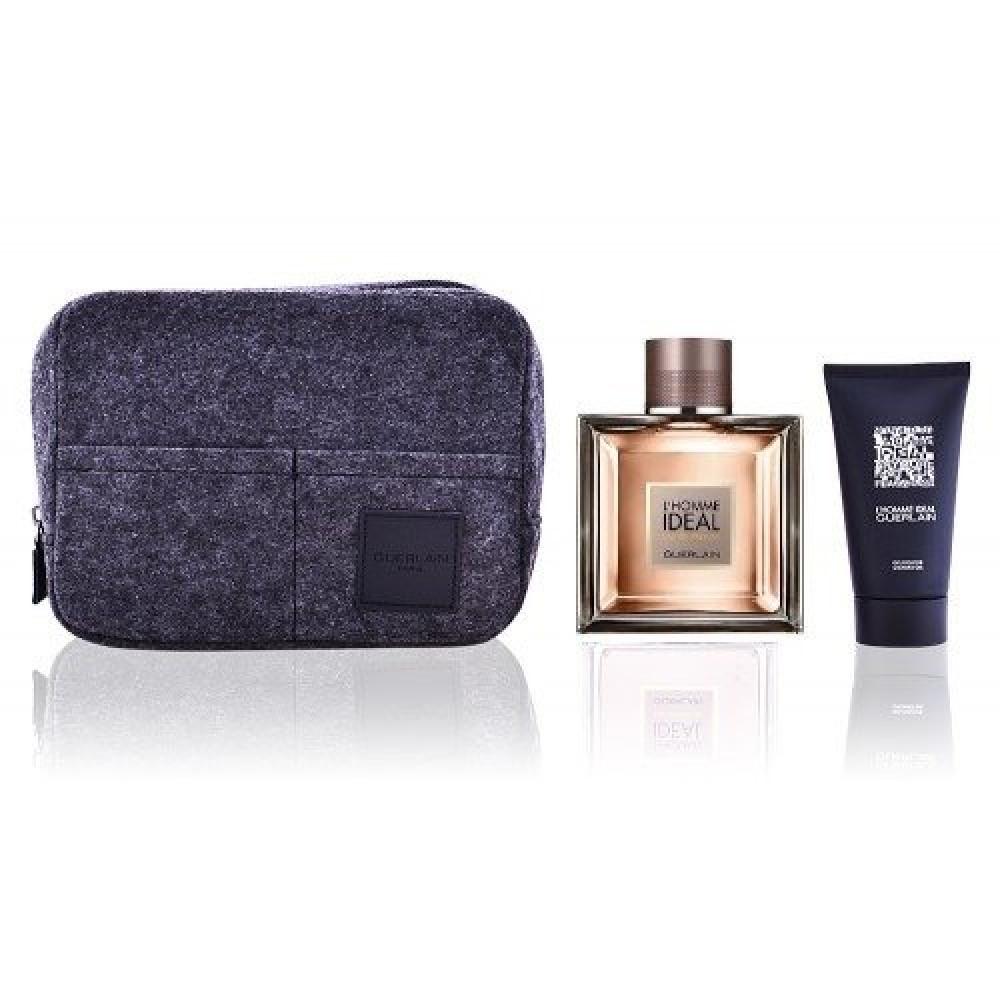 Guerlain LHomme Ideal Eau de Parfum 100ml 3 Gift Set متجر خبير العطور