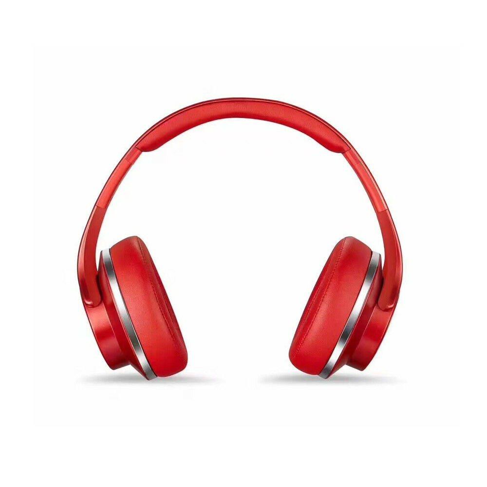 ام اتش فايف 2في1 سماعات رأس بلوتوث ومكبر صوت تدعم NFC من سودو - أحمر