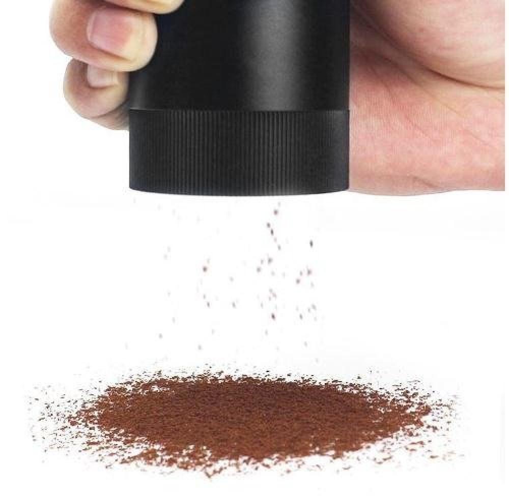 مطحنة قهوة لون اسود سعة 15 جرام متجر كوفي كلاود محامص ادوات تحضير القه