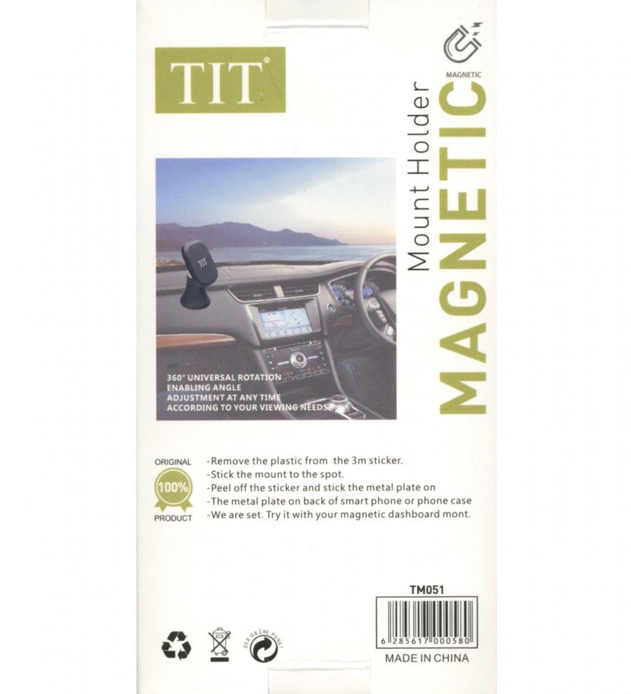 حامل جوال للسيارة مناسب للجوال والتابلت-TIT-مغناطيس-TM051