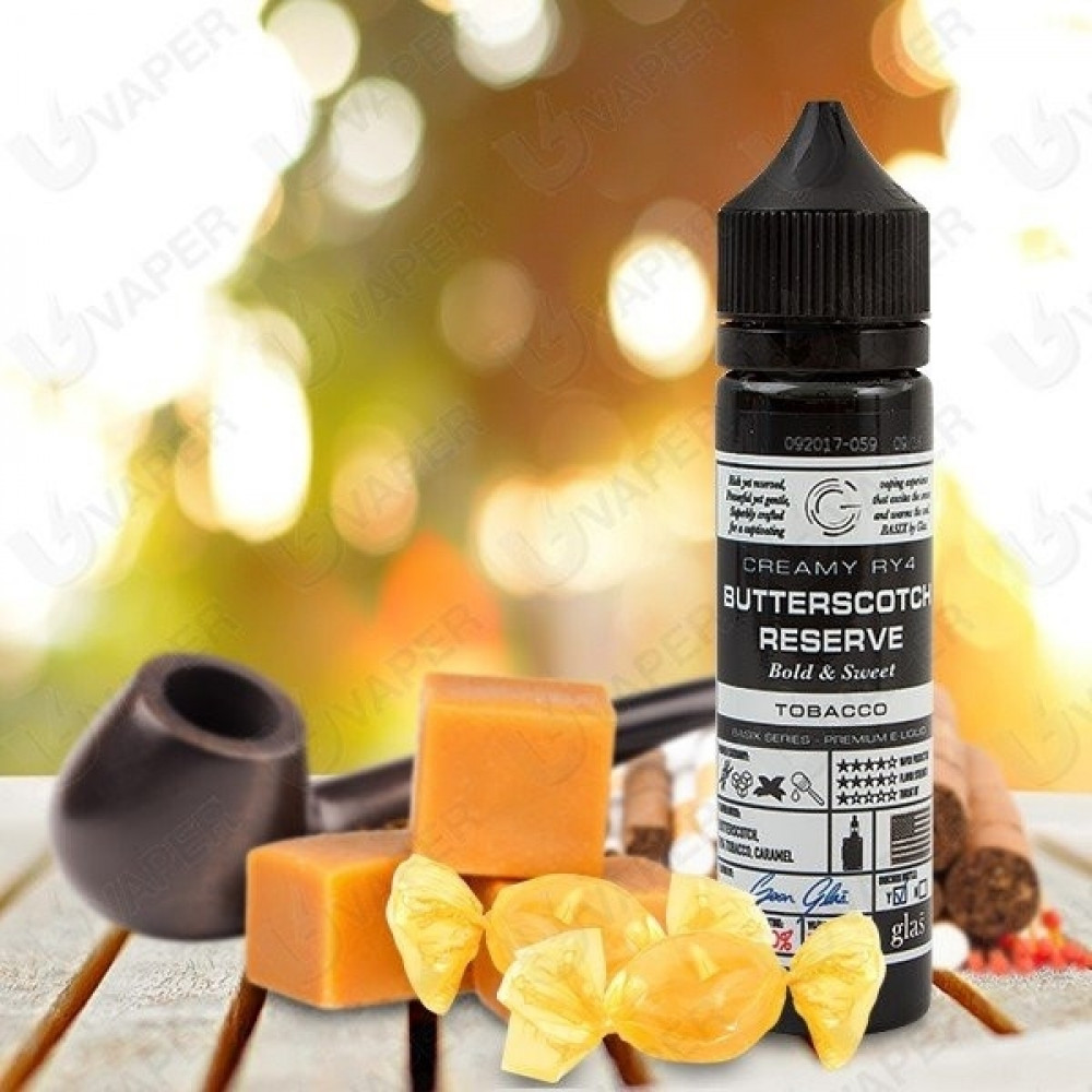 Butterscotch Reserve - 60ML - شيشة سيجارة نكهات فيب Vape