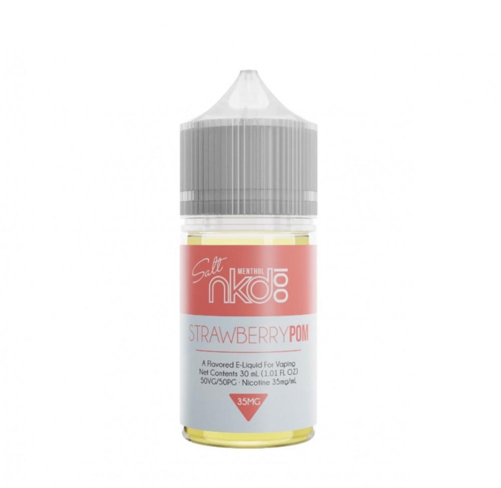نكهة نيكد فراولة سولت نيكوتين Naked STRAWBERRY POM Salt