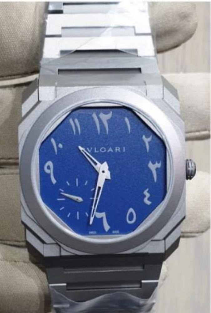 ساعة بولغري اوكتو ستيل الأصلية جديدة تماما