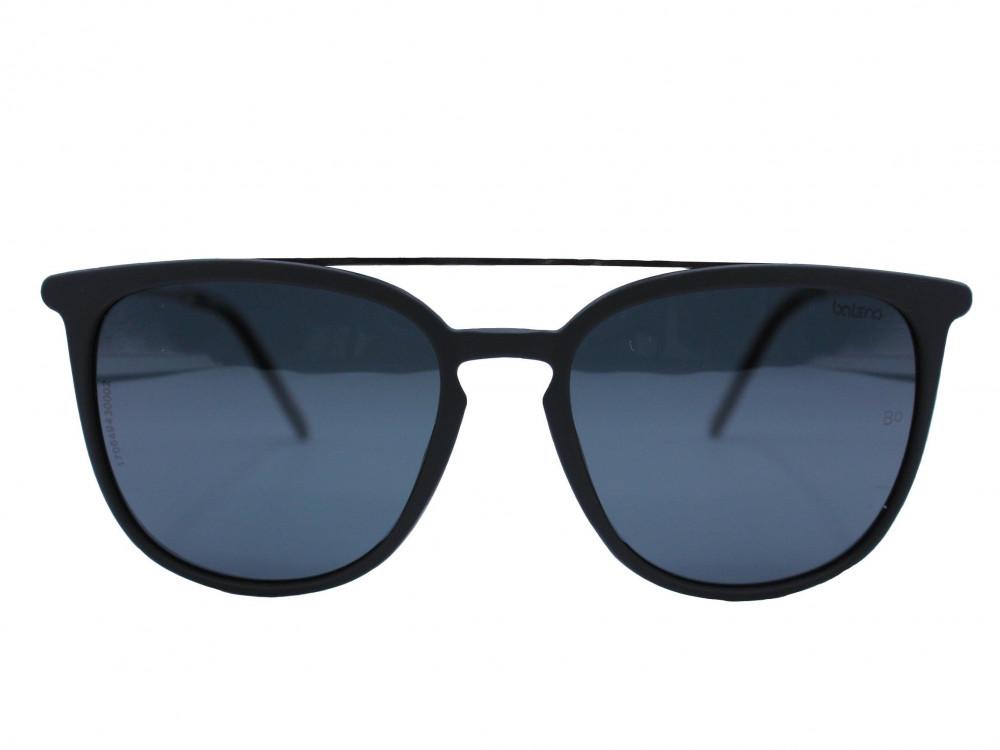 نظاره شمسية كلاسيكية من ماركة BALENO  لون العدسة اسود بإطار فضي  يعطي