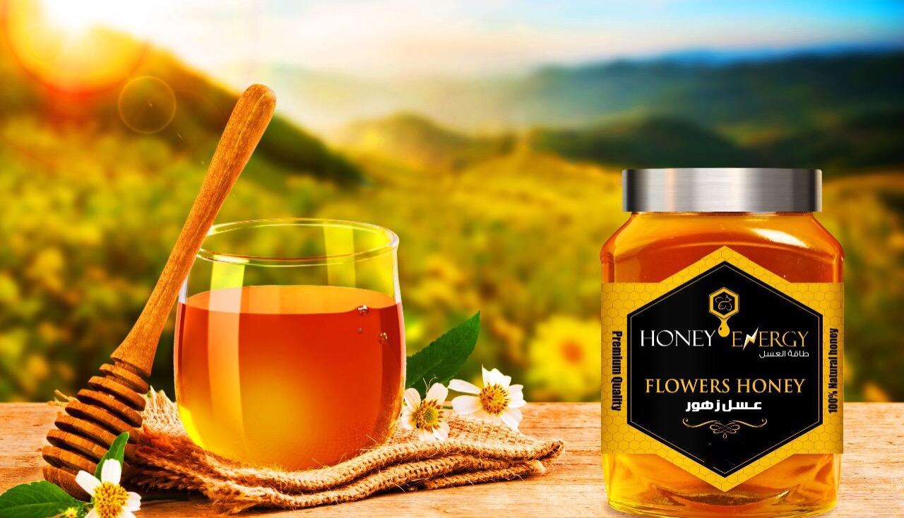 عسل الزهور    يتميز بمذاقه الحلو يفضله الاطفال