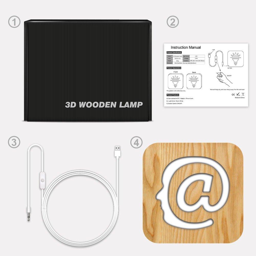 مواسم تحفة فنية ثلاثية الأبعاد إضاءة ليد تركيب التحفة وتوصيل الإضاءة