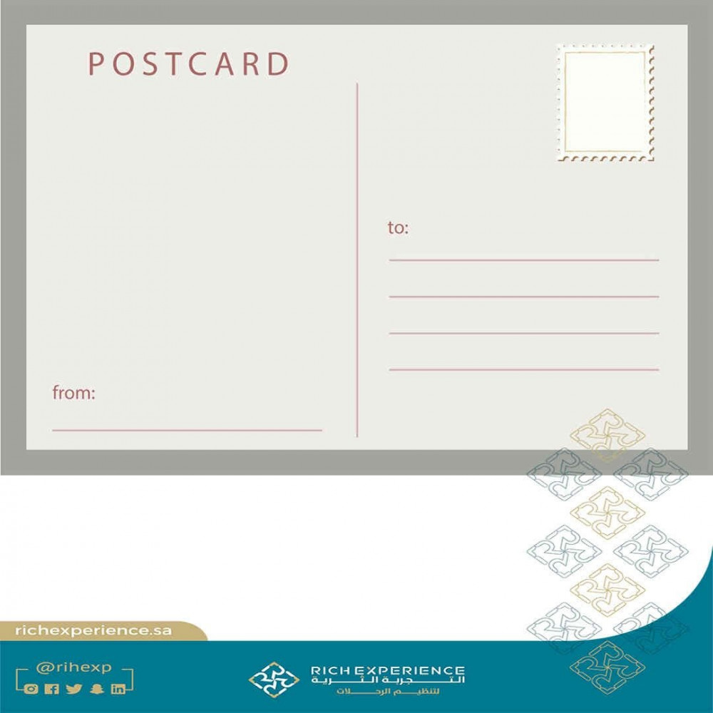 Taif rose card