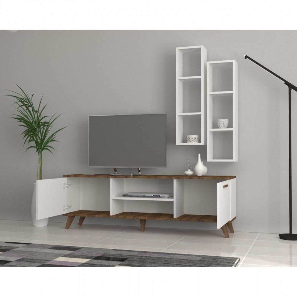 تجارة بلا حدود طاولة تلفاز برفوف إضافية وأيضا وحدات للتخزين