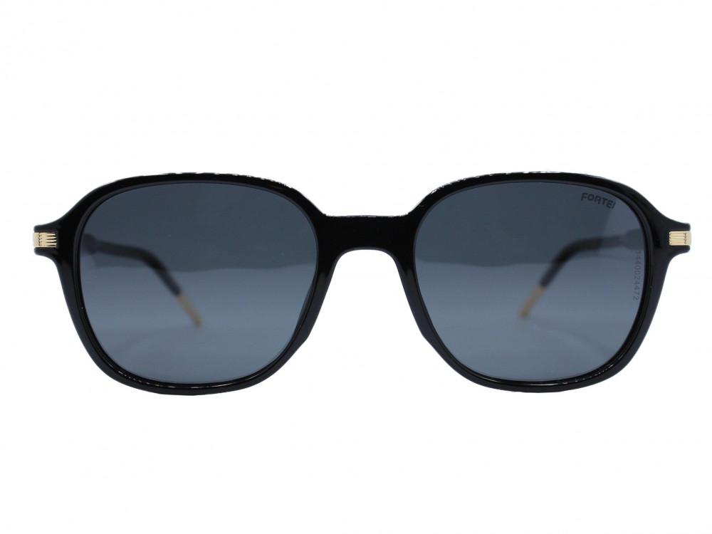 نظاره شمسية مربع من ماركة FORTEI لون العدسة اسود