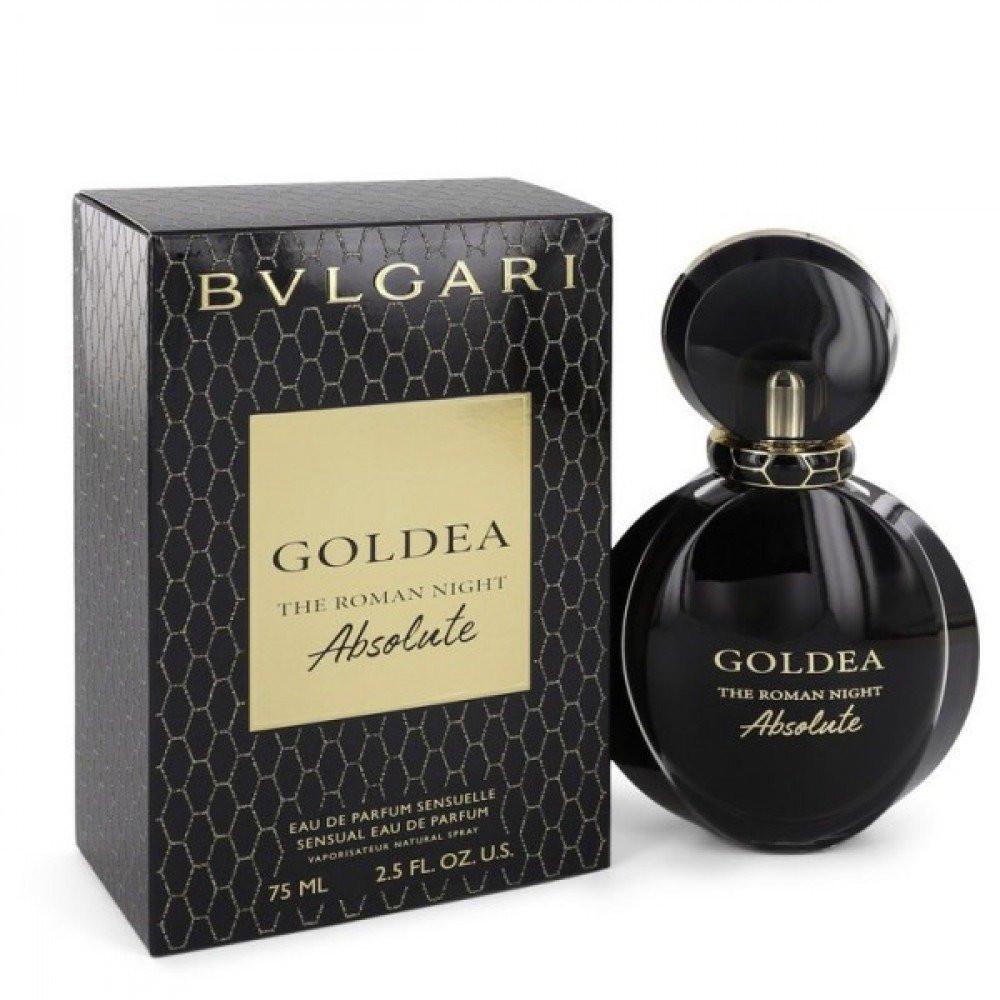 Goldea The Roman Night Absolute Bvlgari للنساء
