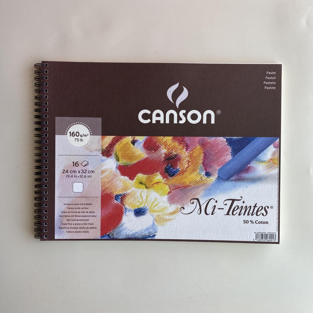 Canson Mi-Teintes white- A4