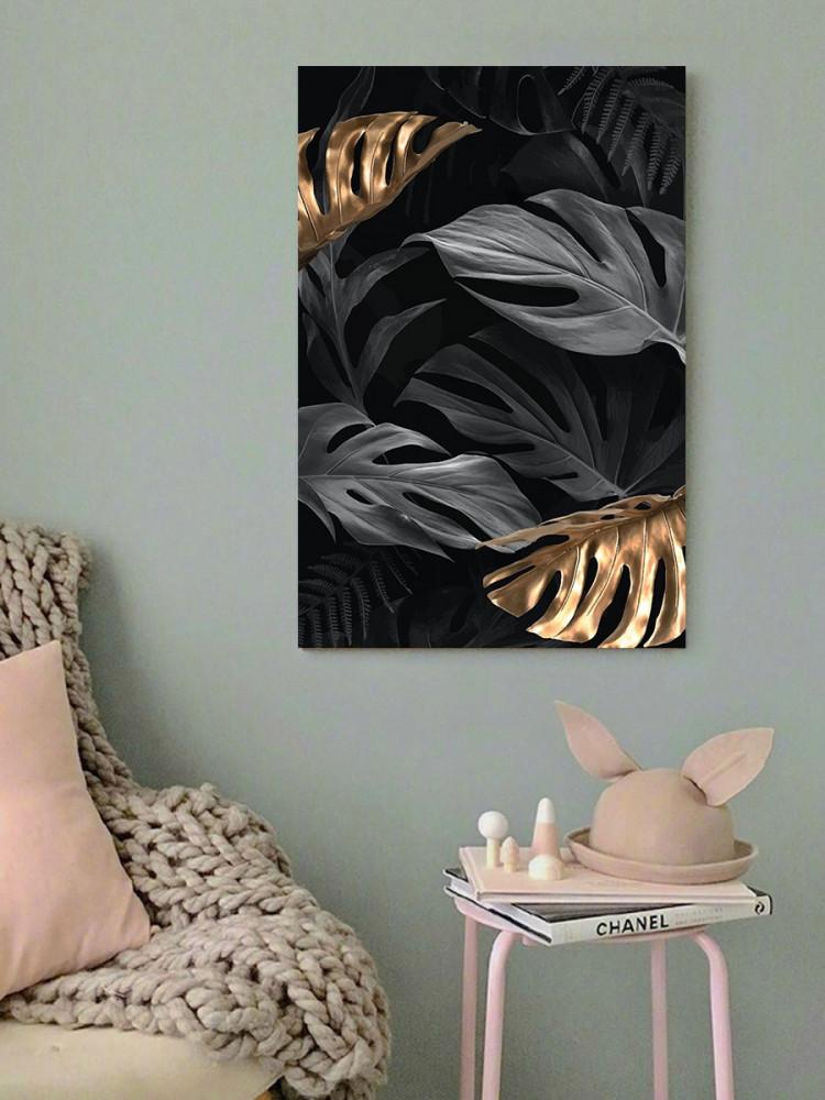 لوحة ورق شجر خشب ام دي اف مقاس 40x60 سنتيمتر