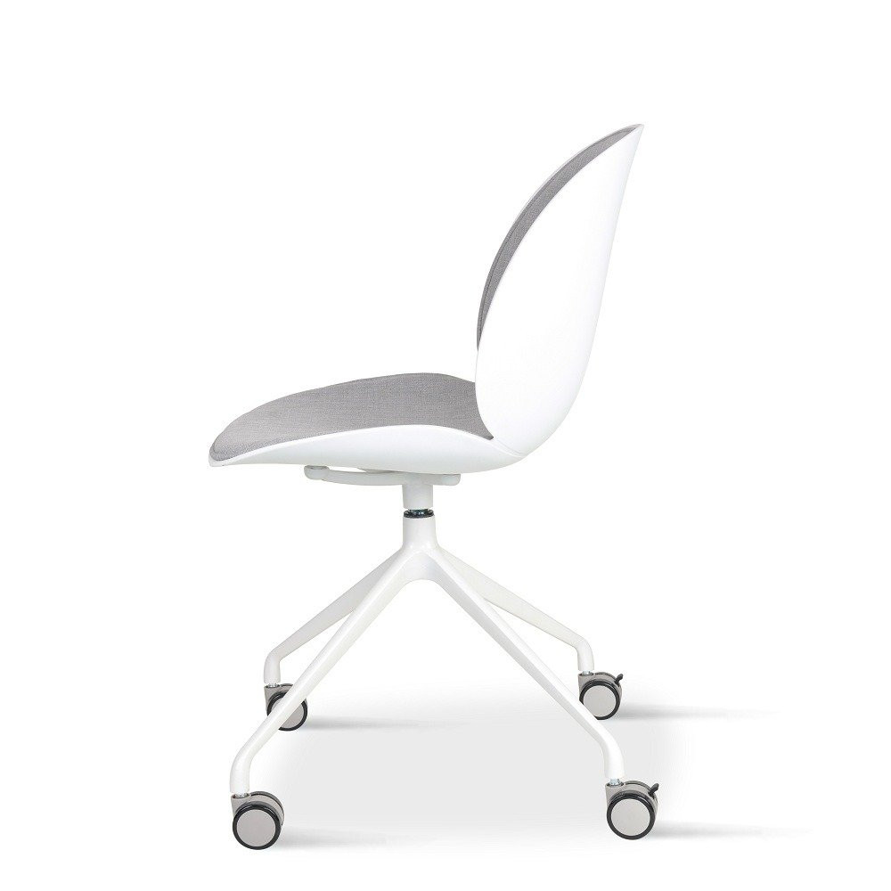 كرسي لون رمادي فاتح NEAT HOME مواسم مصنوع من المعدن والبلاستيك PP