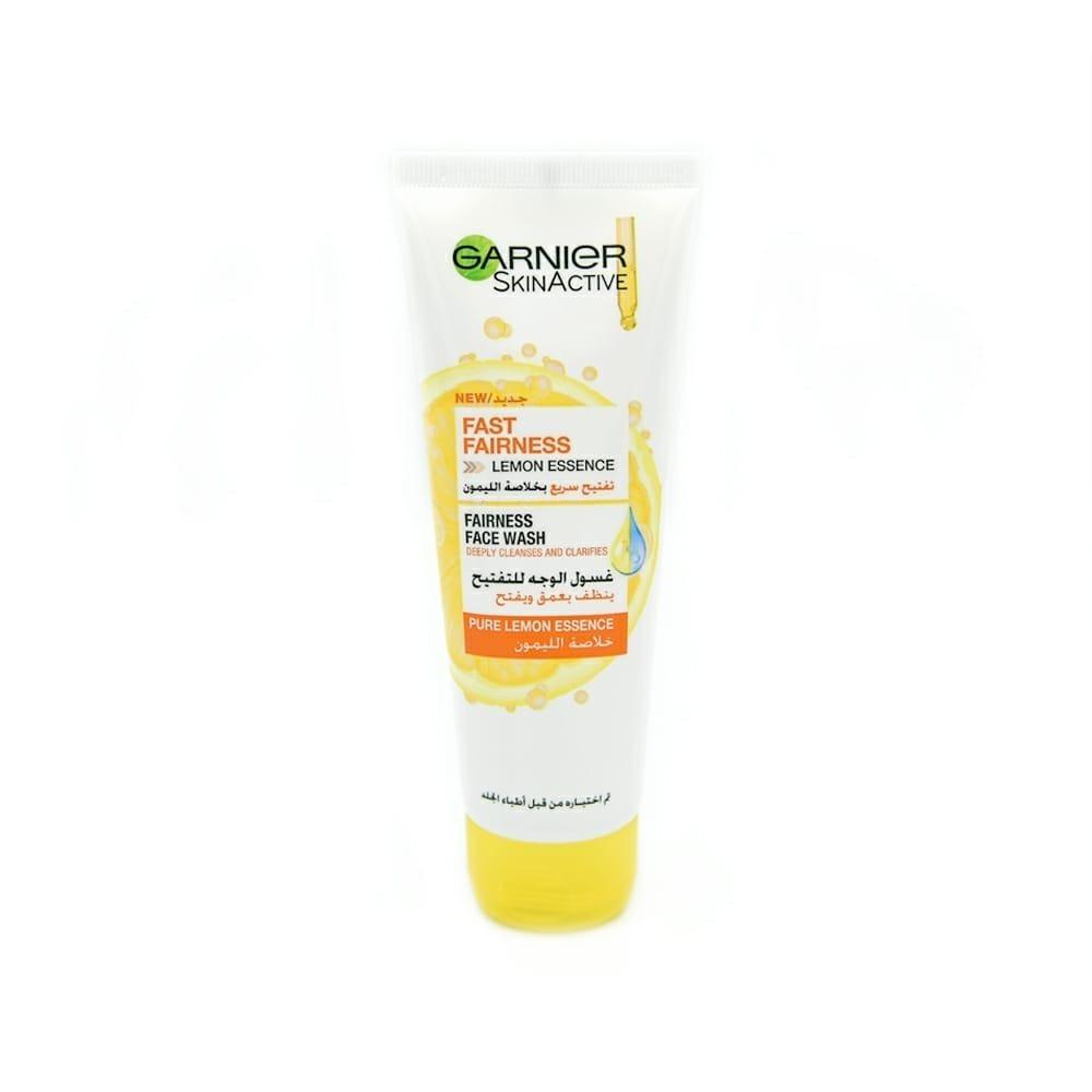 غارنييه - غسول الوجه للتفتيح بخلاصة الليمون 100 مل