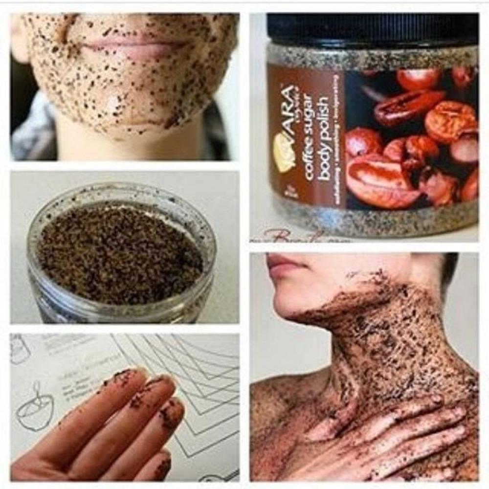 مقشر القهوه البديل لمقشر فرانك Isvara Organics Coffee Sugar Body Polis