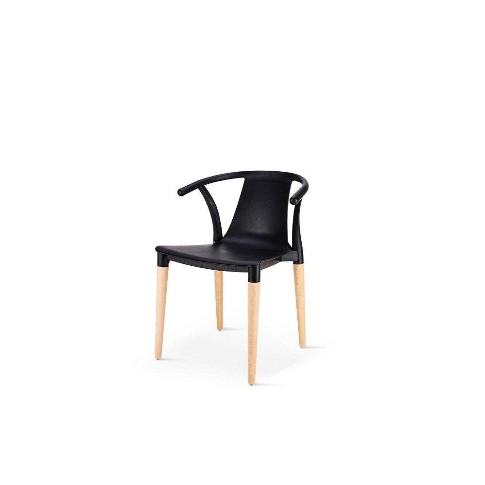 أجمل الكراسي تجدها في متجر مواسم طقم كراسي أسود ماركة نيت هوم