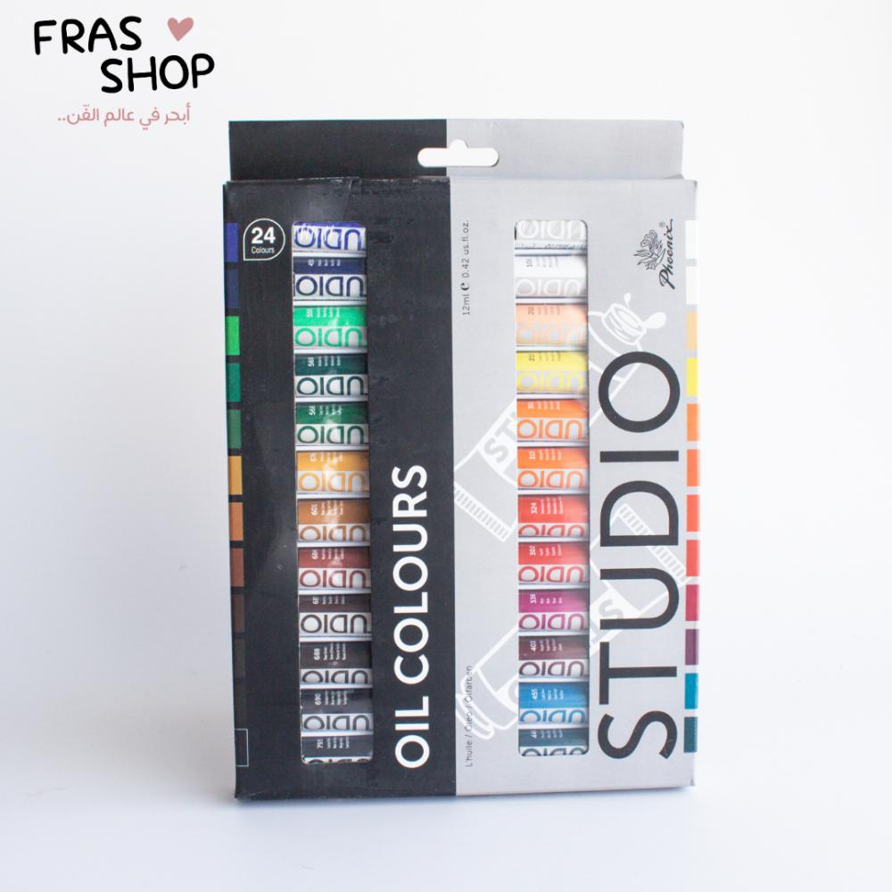 الوان زيتية من فونكس 24 لون