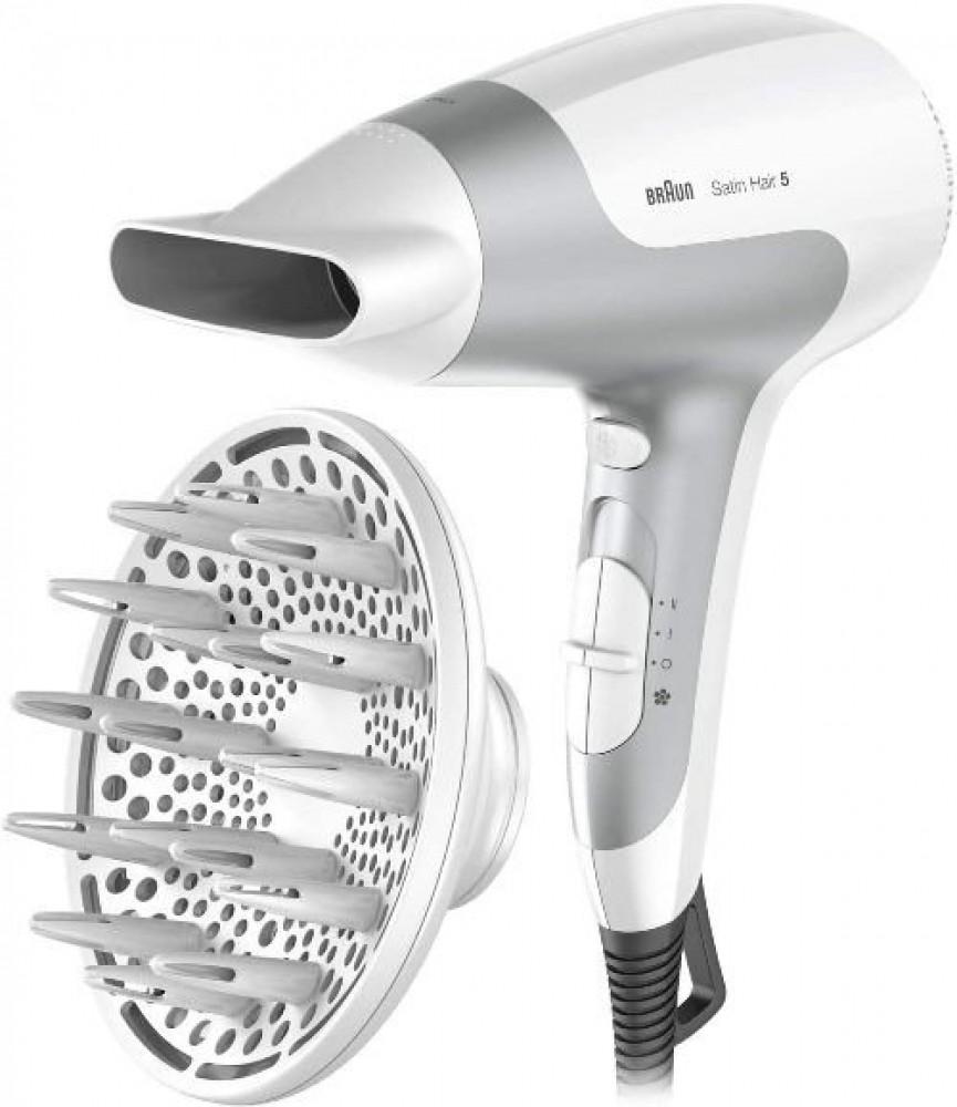 سيشوار شعر براون Braun HD585 Satin Hair 5 Ionic Power Perfection Dryer