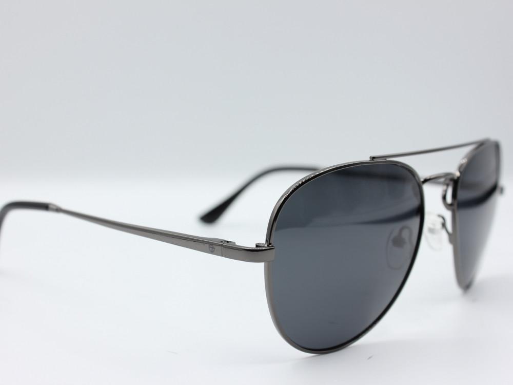 نظارة شمسية تصميم العدسه كلاسيكي من ماركة TAGO  اللون اسود مطفي رجالي