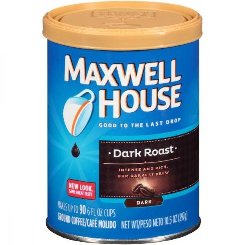قهوة ماكسويل هاوس دارك روست غامقة فلتر كوفي قهوة امريكية