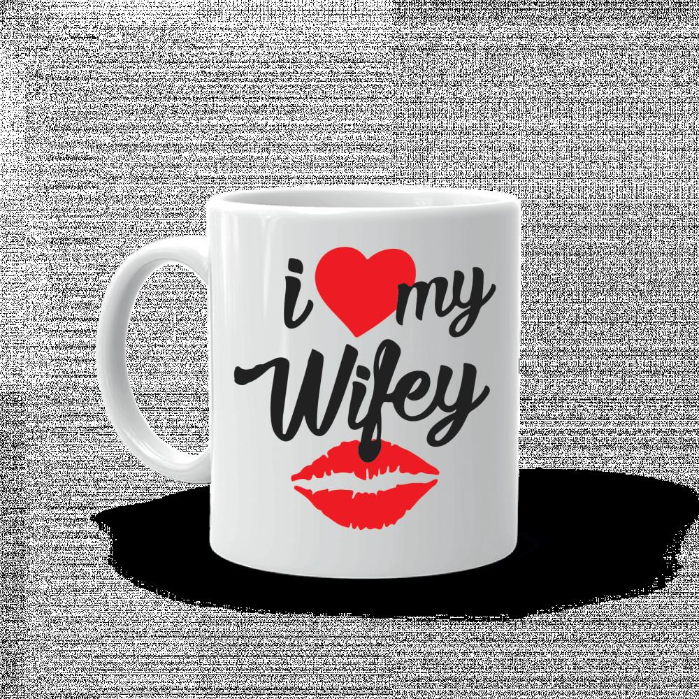 كوب I Love My Wifey