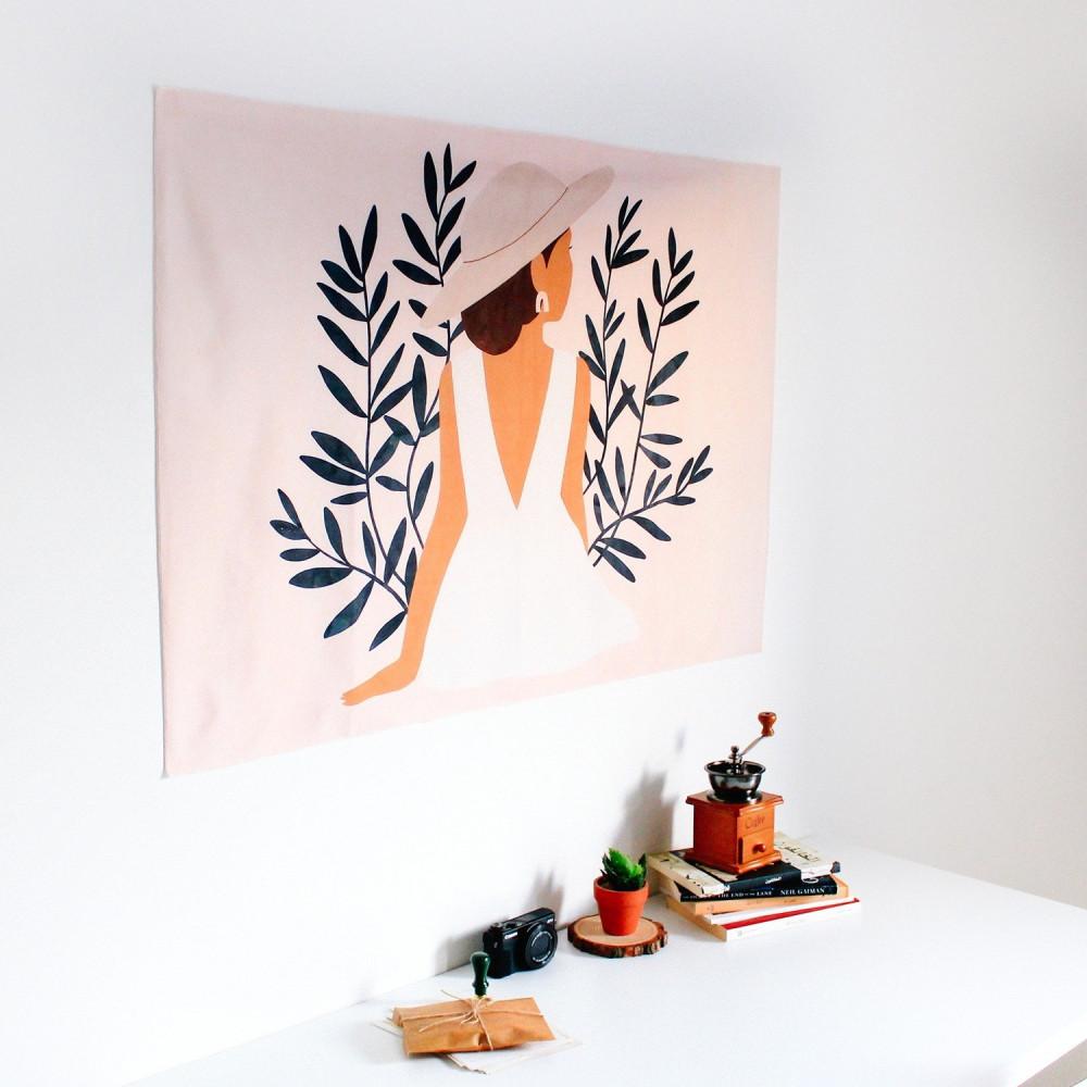 لوحات متجر لوحة فنية كانفس أفكار ديكور للمنزل فستان أبيض غرفة النوم