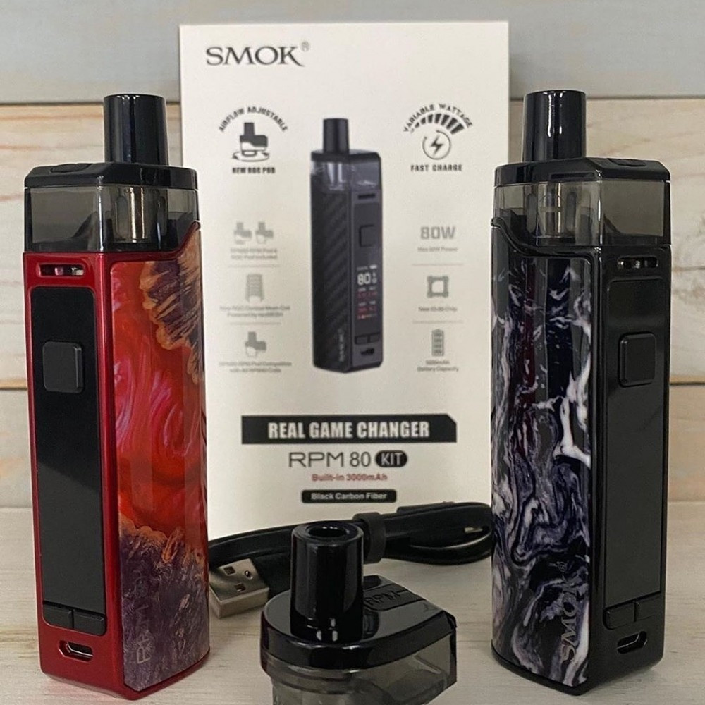SMOK RPM80 Kit سحبة سموك ار بي ام 80 واط