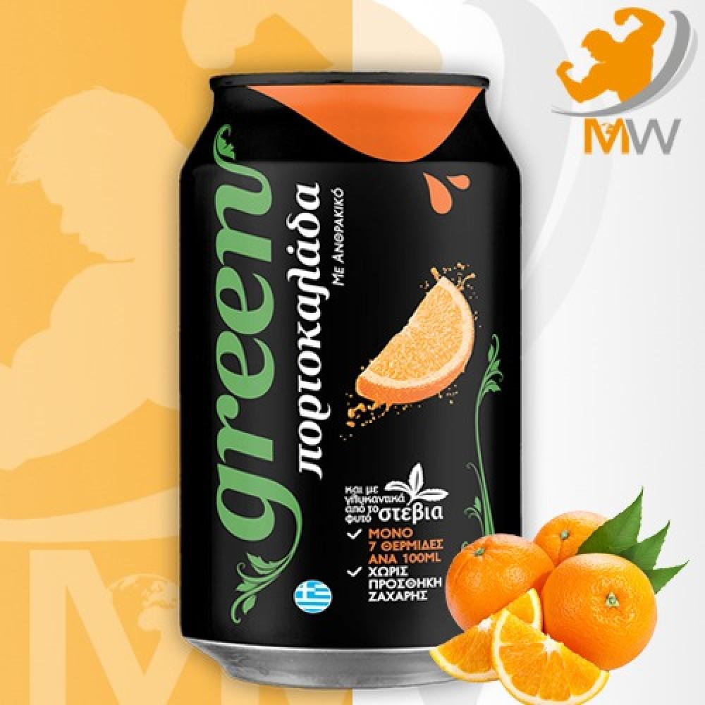 عالم العضلات مكملات غذائية بروتين مشروب جرين كولا برتقال Green Cola