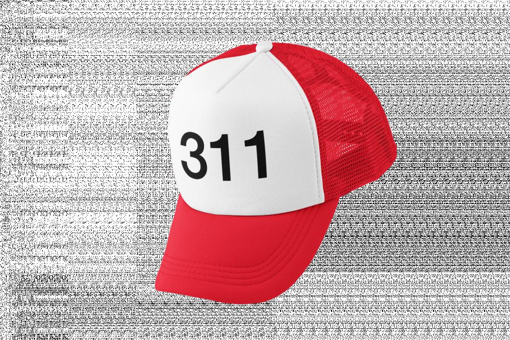 كاب طباعة برمز 311