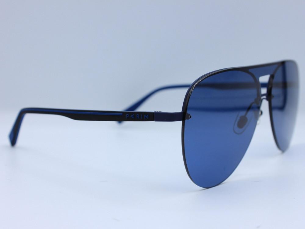 نظاره شمسية كلاسيكية من ماركة PARIM لون العدسة ازرق للجنسين تصميم حديث