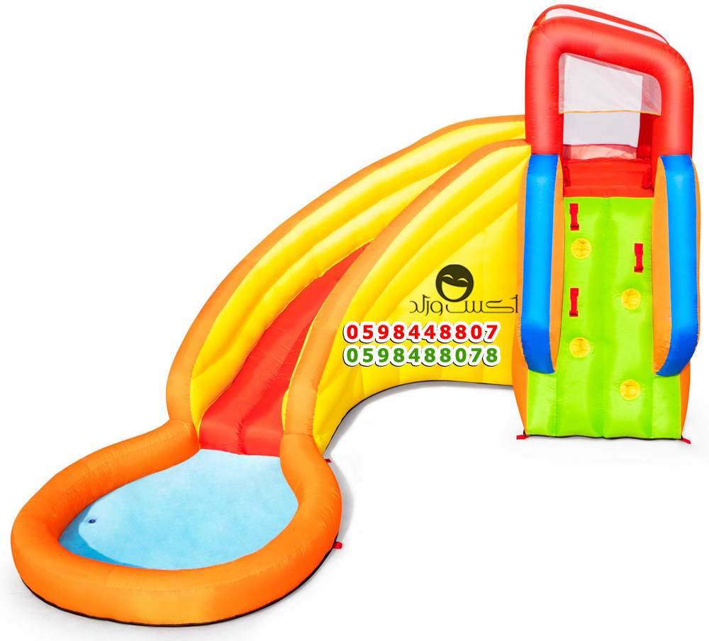 زحاليق مائية زحليقات صابونية حوض موية صابون احواض سباحة مسبح نطيطه