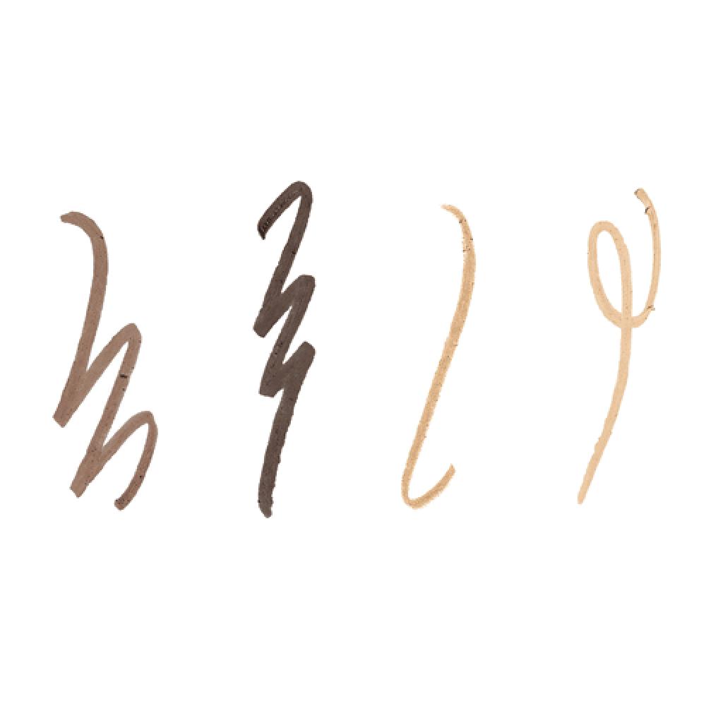 قلم الحواجب برو كونتور برو من بنفت - بني - اسود - فاتح