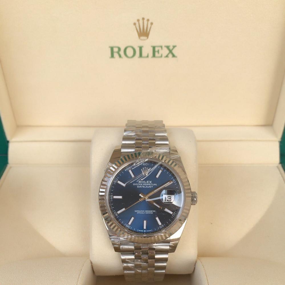 ساعة رولكس ديت جست الأصلية الفاخرة جديدة كليا 126334