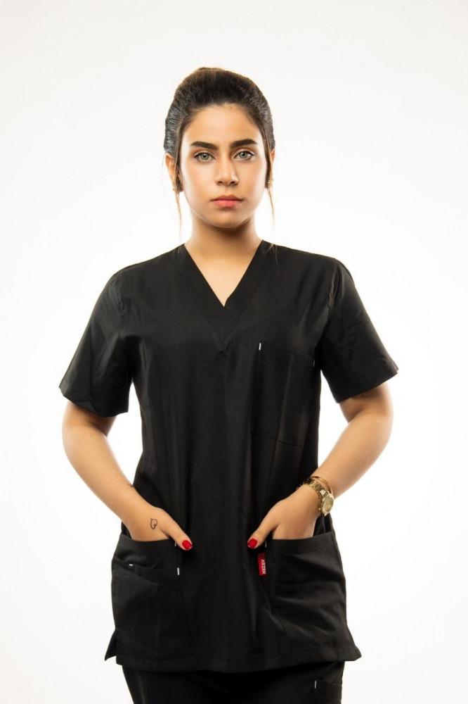 سكراب طبي أسود