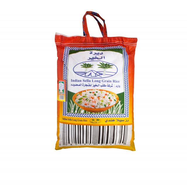 ارز ديرة الخير 4 قطم 10 كيلو شركة الخير