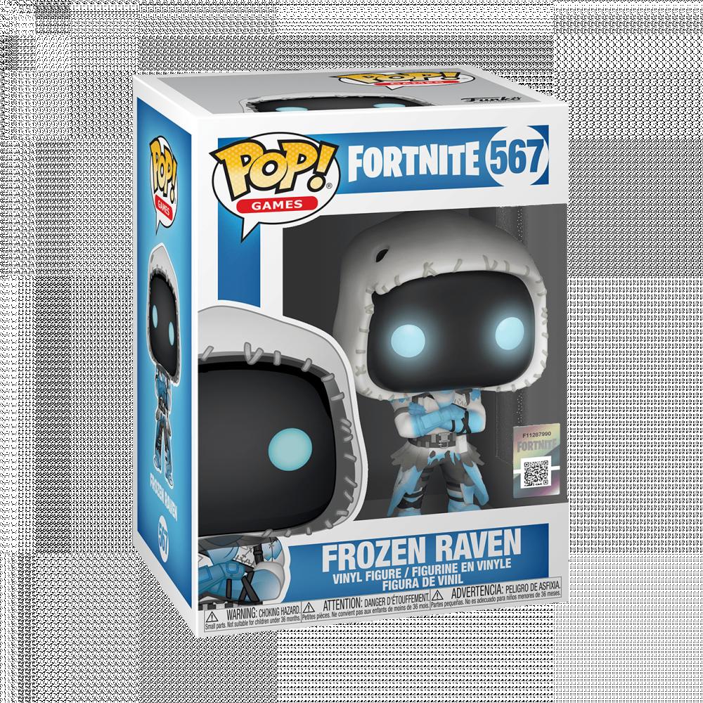 Frozen Raven funko fortnite