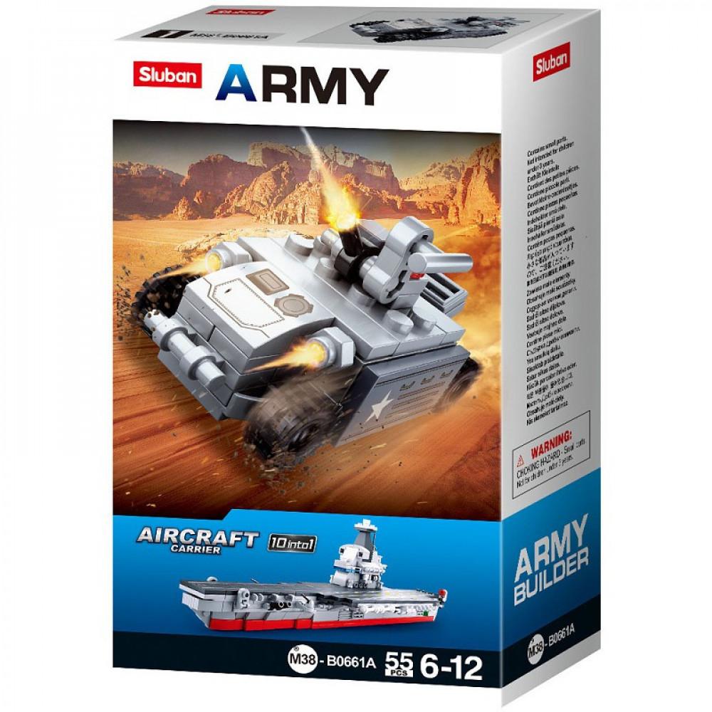 سلوبان, قطع تركيب بلاستيك, حربية مضاد طائرات, العاب, Sluban, Toy