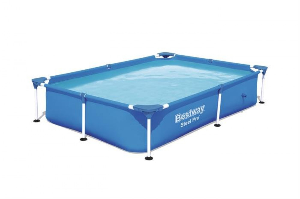 مسبح منزلي متنقل مستطيل بستواي bestway للأطفال