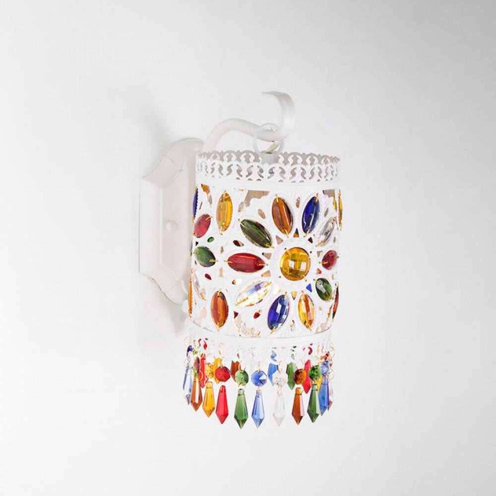 اضاءة جدارية ستايل مغربي ملون - فانوس