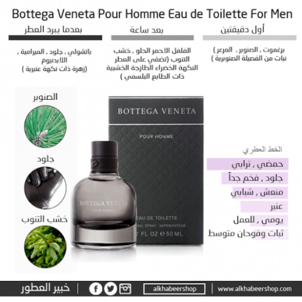 Bottega Veneta Pour Homme Eau de Toilette 90ml خبير العطور