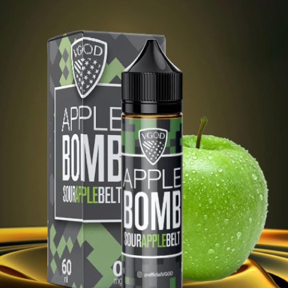 نكهة فيب فيقود ابل بومب تفاح حامض 30 مل VGOD BOMB SOUR APPLE