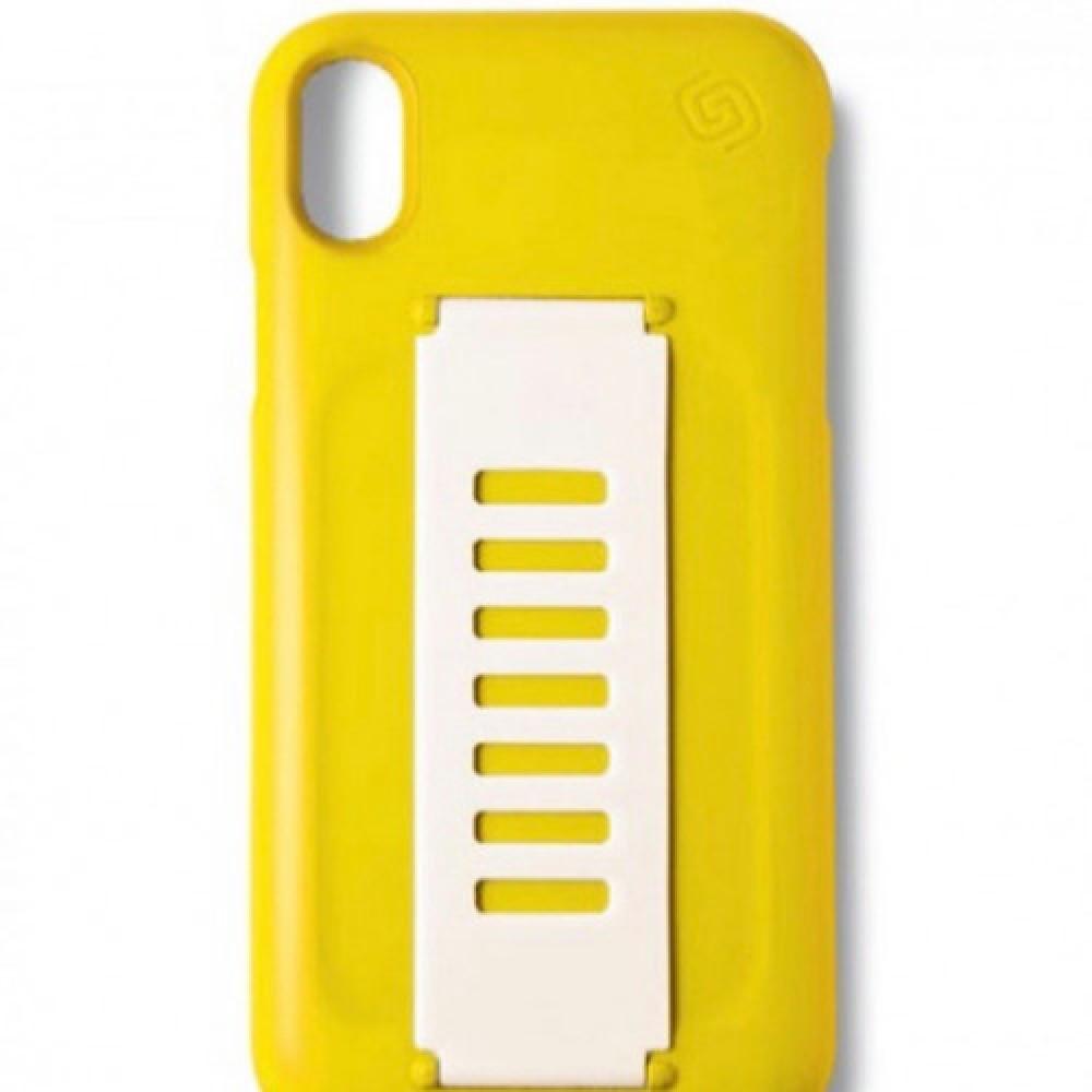 غطاء حماية جريب 2 يو كفر رفيع لجهاز ايفون اكس آر أصفر متجر الصندوق الازرق