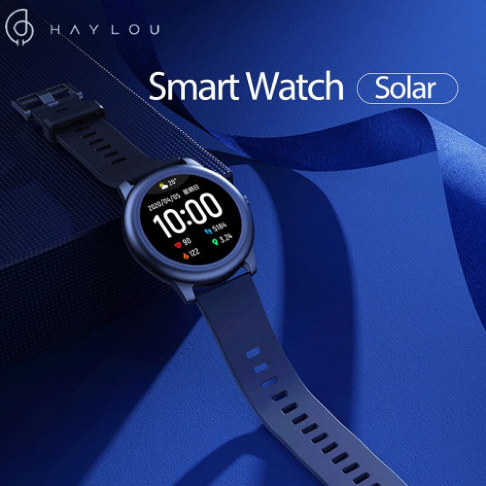 Haylou Solar LS05 Full Round Screen Wristband 12 Sport Modes